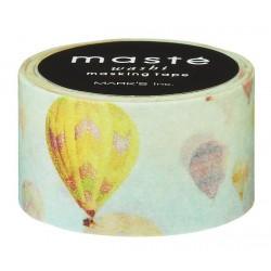 masking tape balloon masté