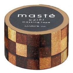 masking tape masté carreaux bois