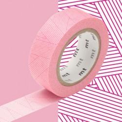masking tape messy magenta