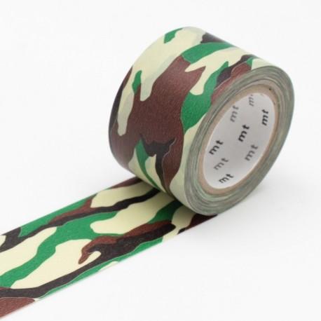 masking tape camouflage washi tape army