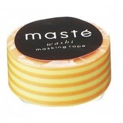 masking tape neon orange stripe washi tape  rayures oranges fluo