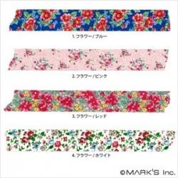 masking tape masté liberty washi tape tape fleurs