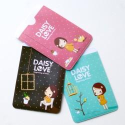 étui à carte Daisy Love pochette rangement kawaï