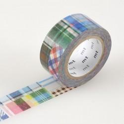 Masking tape large motif patchwork MTex