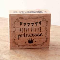 tampon bois princesse Toga