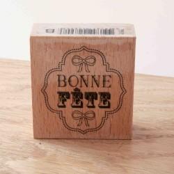 tampon bois bonne fête  toga
