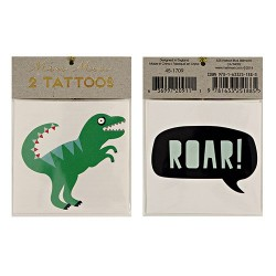 tatouages éphémères dino tattoo dinosaure enfant