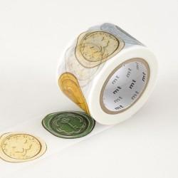 masking tape sceaux de cire washi tape cachets wax