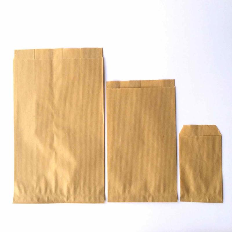 lot de 10 petites pochettes papier kraft 7cm 12 cm. Black Bedroom Furniture Sets. Home Design Ideas