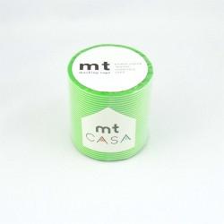 masking tape casa botan 5  cm washi tapelarge  rayures vertes décor