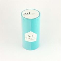 masking tape casa  sora 10 cm washi tape large turquoise déco