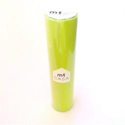 masking tape casa moegi  20 cm washi tape large uni pistache vert déco