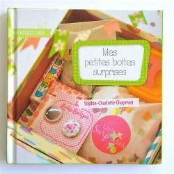 livre mes petites boîtes surprises de Sophie-Charlotte Chapman