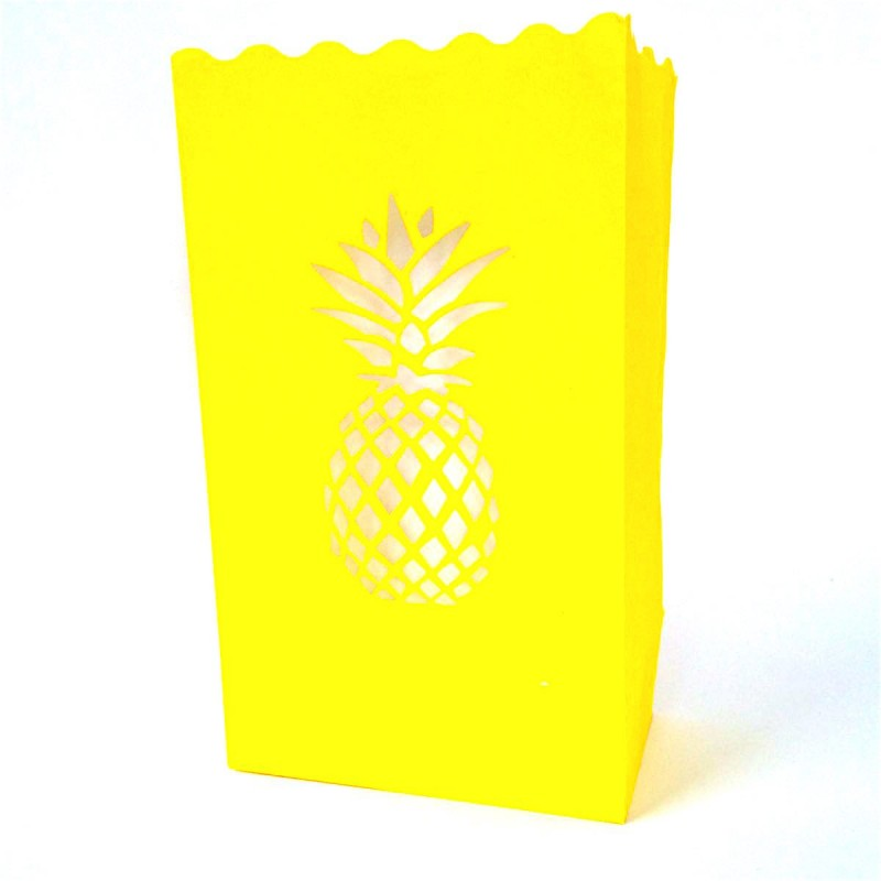 Deco ananas jaune for Petit ananas deco