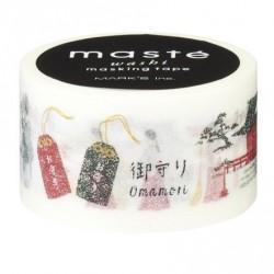 masking tape masté symbole japonais classique washi tape japan tag