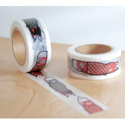 masking tape Manches à air carpe koï koinobori