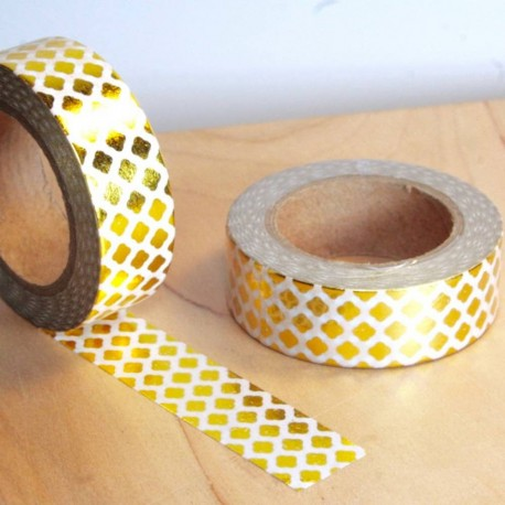 Masking tapes clover gold