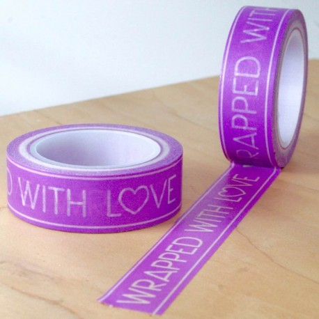 masking tape wrapped with love