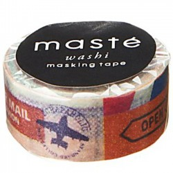 masking tape scrap travel masté