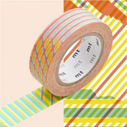 masking tape checked red
