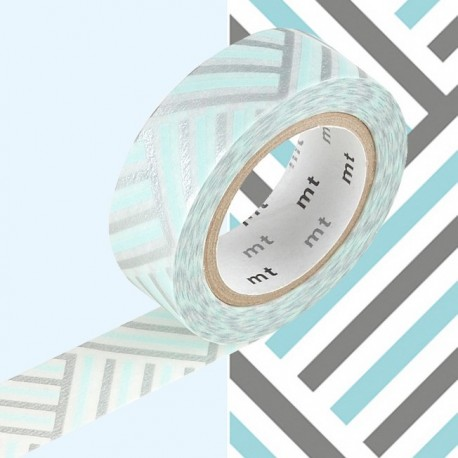 masking tape corner izumi wash tape strip river light blue