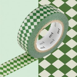 masking tape diamond viridian
