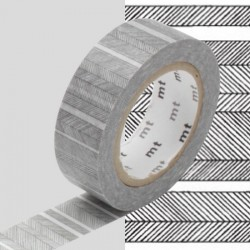 masking tape traits washi tape black srtip
