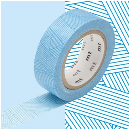 masking tape messy cyan washi tape blue strip