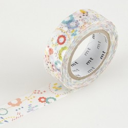 masking tape colorful pop washi tape fleur couleur graphique pop