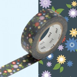 masking tape mini flower