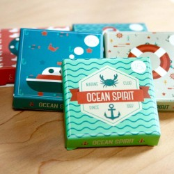 Label Stickers ocean spirit