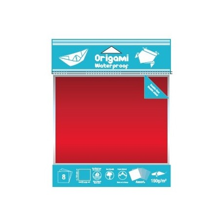 papier origami uni  water proof  color paper
