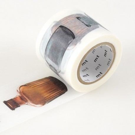 Masking tape large bottle MTex washi tape bouteille