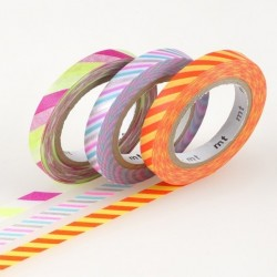 masking tape slim twist cord B washi tape fin