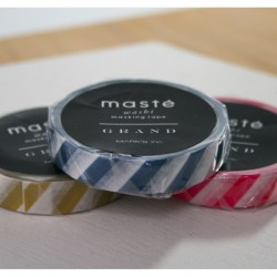 masking tape striped grand Masté