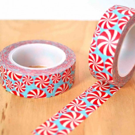 masking tape disc candy