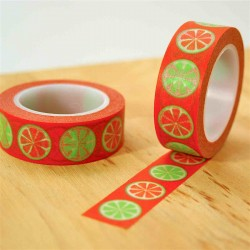 masking tape agrumes orange
