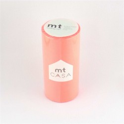 masking tape casa peach 10 cm washi tape large déco corail