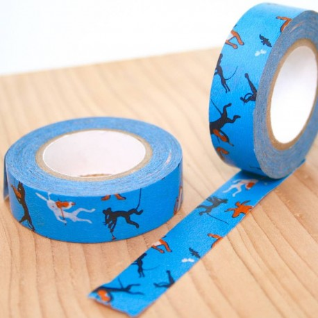 "masking tape figurines classic ""YONAGADO"" washi tape original japan"