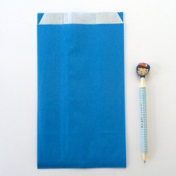 lot de 10 pochettes kraft bleues emballages envelopes kraft blue