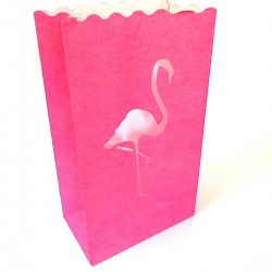Sac photophore flamant rose