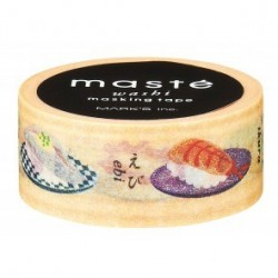 masking tape masté sushi washi tape sashimi nourriture clasic japan