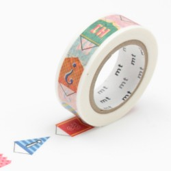 masking tape mt ex fanion washi tape pendant couleurs