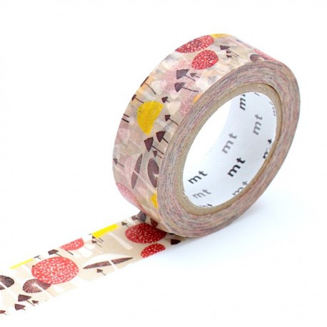 masking tape mushroom  collector Amedahls washi tape champignons
