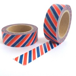 masking tape motif air mail