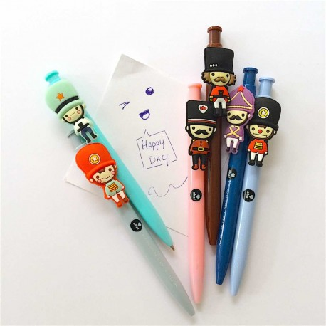 stylo bille petit soldat kawaï littel soldier roll pen kawaii