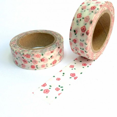 tape petite fleures rose washi tape liberty little pink flower