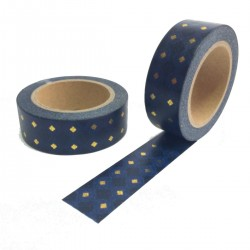 masking tape carre or fond noir