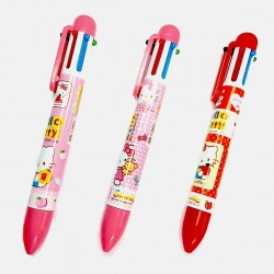 stylo billes hello kitty  6 couleurs