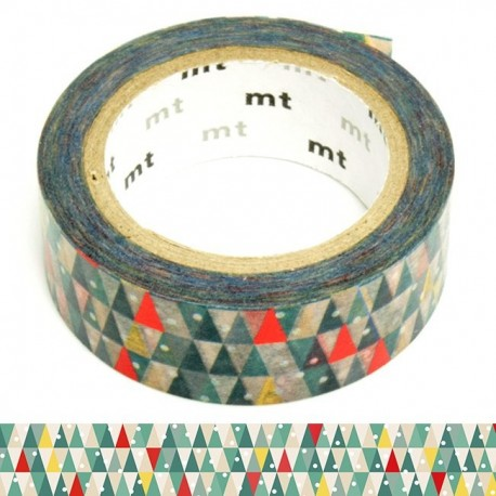 masking tape de noël sapin géométrique washi tape Xmas christmas tree